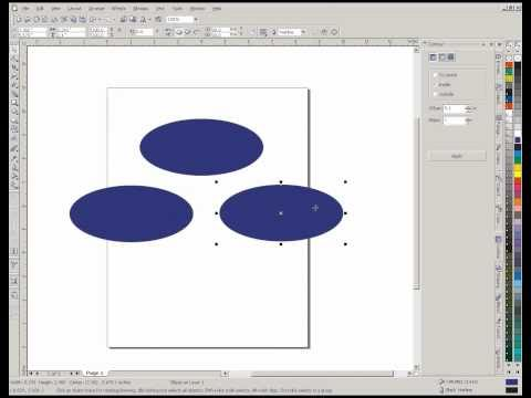 Copy-Duplicate Objects in CorelDraw