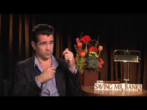 SAVING MR BANKS Interviews: Colin Farrell, Emma Thompson, Jason Schwartzman and More!
