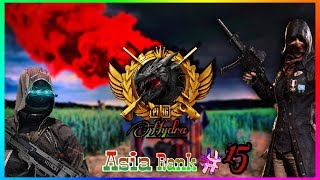 PUBG MOBILE LIVE   #15 RANKED PLAYER ASIA SERVER   TEAM HYDRA OFFICIAL