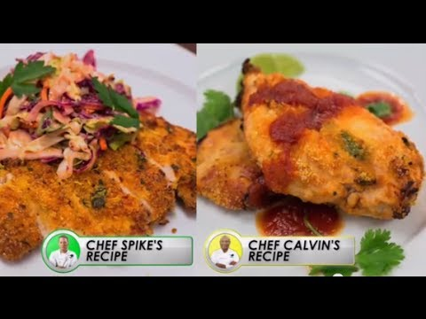 Recipe Rehab Tv, Season 1  Fried Chicken Made Healthy