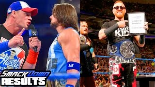 CENA RETURNS! SLATER SIGNS! WWE Smackdown 9/13/16 Results (Going in Raw Wrestling Podcast Ep. 100!)