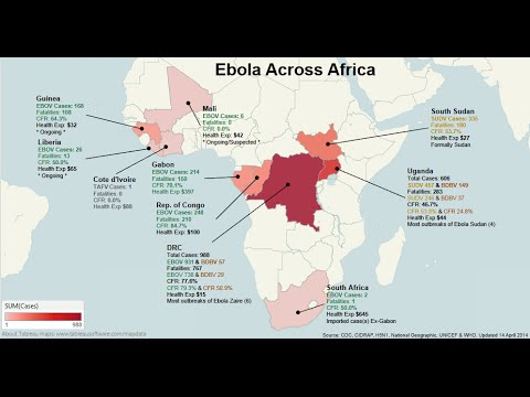 Pestilence : CDC warns Deadly Ebola Outbreak is Spiraling out of Control in Africa (Sept 02, 2014)