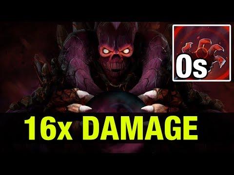 0.75s COOLDOWN - INSANE FAST 16x DAMAGE !! - SingSing Shadow Demon - Dota 2