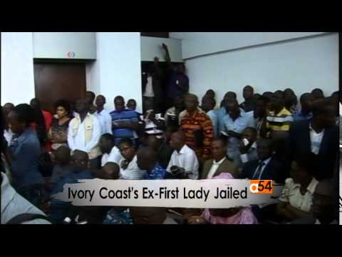Ivory Coast First Lady Sentence