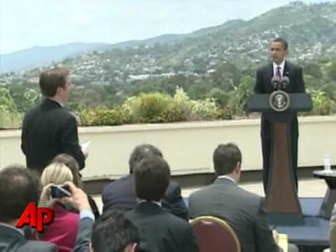 Obama Sees Positive Signs From Venezuela, Cuba