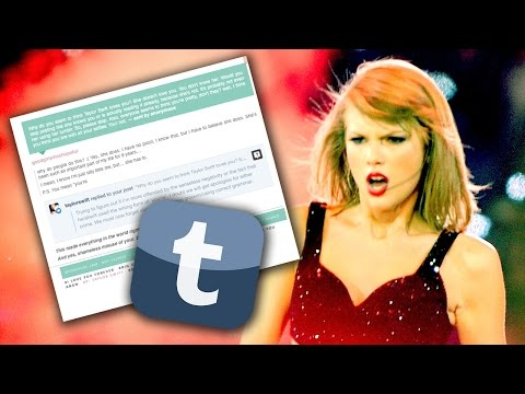 Taylor Swift Calls Out Tumblr Troll For