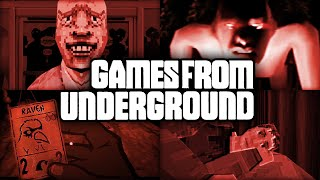Games from Underground #3 | Alternative Horror