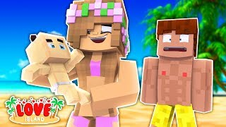 THE ISLANDERS HAVE BABIES?! Minecraft Love Island | Little Kelly