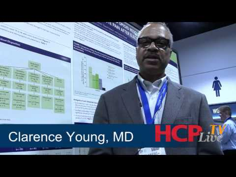 Clarence Young, MD, Describes a New Indomethacin Reduced Opioid Medication Study Results