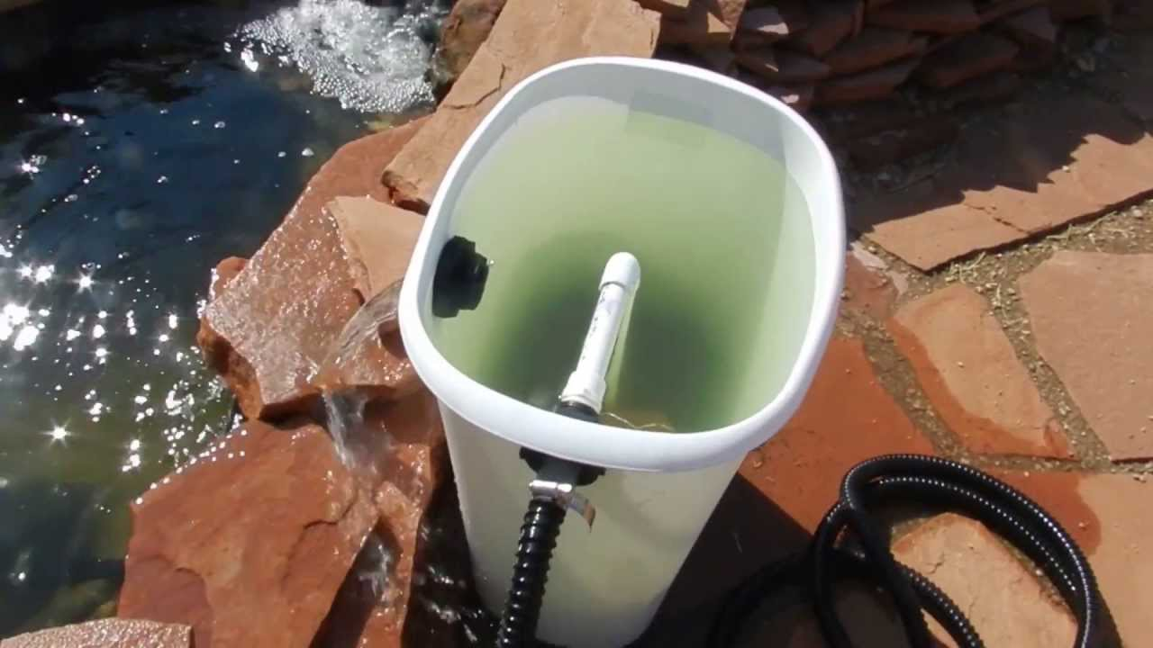 Diy homemade pond filter part 2 of 3 youtube for Diy pond filtration