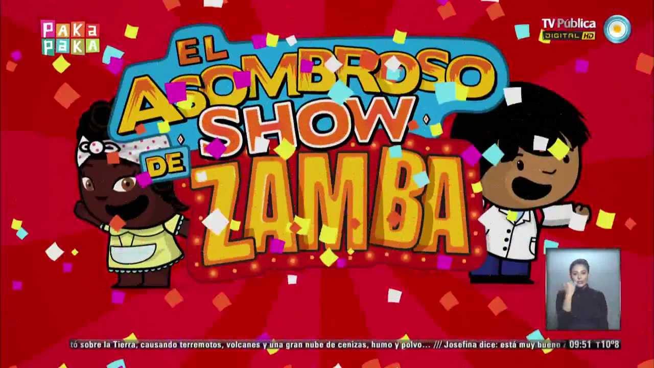 Zamba el asombroso show de zamba sol y emi youtube for El asombroso espectaculo zamba