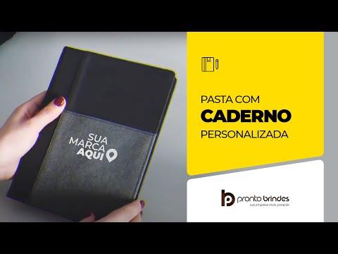 PRONTO BRINDES -  PASTA COM CADERNO - 93734-004
