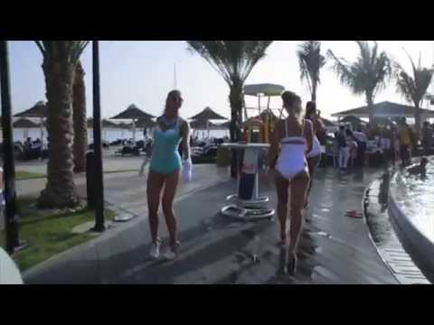 Blue Sensation Pool Party @ BayShore Intercontinental Hotel Abu Dhabi - April 2015