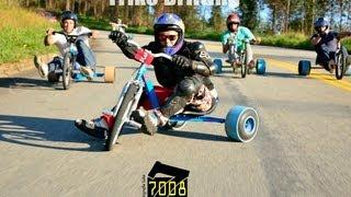 Drift Trike Brasil - Esporte Radical - Quadro Saindo da Rotina - Canal 7008Films