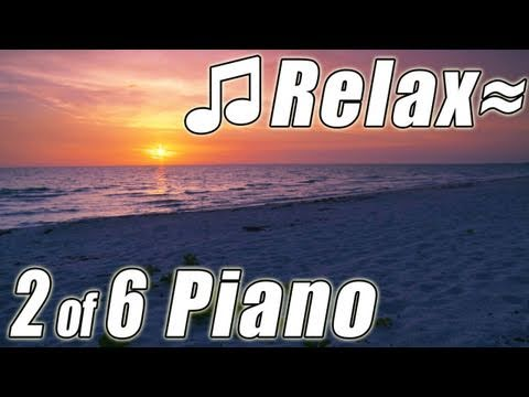 RELAXING PIANO #2 Romantic Music Ocean Instrumental Classical Songs Relax Slow jazz HD video 1080p