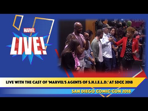 Live with the Cast of 'Marvel's Agents of S.H.I.E.L.D.' at SDCC 2018