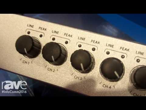 InfoComm 2016: WorkPro Introduces MD 82 AX Digital Audio Mixer