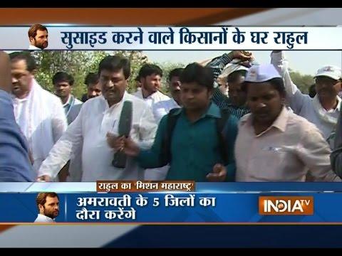 Rahul Gandhi begins 15-km padyatra from Amravati