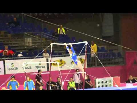 Nataliya KONONENKO UKR, Bars Senior Qualification, European Gymnastics Championships 2012
