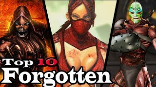 Top 10 Forgotten Mortal Kombat Characters