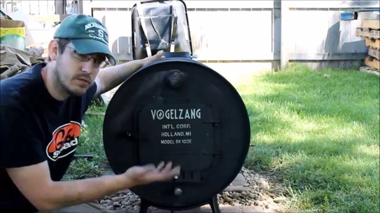 Building A Wood Burning Stove For Under 75 Vogelzang