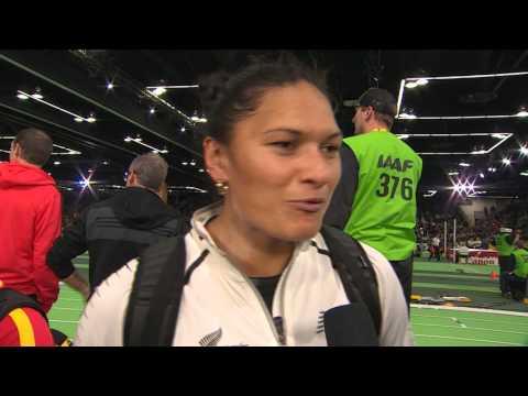 IAAF WIC Portland 2016 - Valerie ADAMS NZL Shot Put Women Final BRONZE