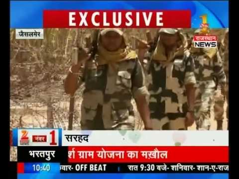 Selfless Indian army guarding nation on 52ºC