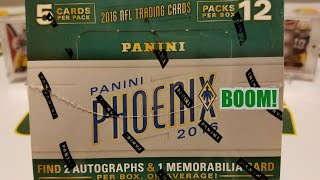 2016 Panini Phoenix Football Hobby Box. Sick 1/1 RPA
