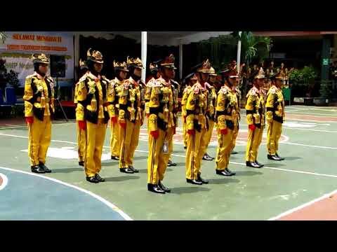 Lomba PBB SDN Ciluluk 2 Kec. Tanjungsari Sumedang di SMP 25 Bandung