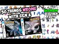50 Things WRONG With Pokemon Diamond Pearl and Platinum (Generation 4)