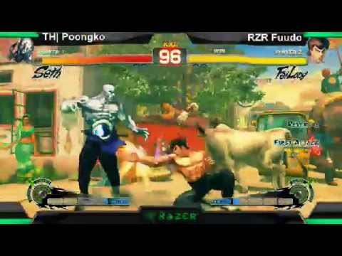 SS2K12 AE2012: POONGKO (Seth) vs Fuudo (Fei Long) - Day 1 (Losers Pool Match)