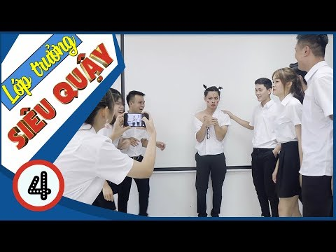 Lớp Trưởng Siêu Quậy | Nữ Quái Học Đường - Tập 4 - Phim Học Đường | Phim Cấp 3 - SVM TV