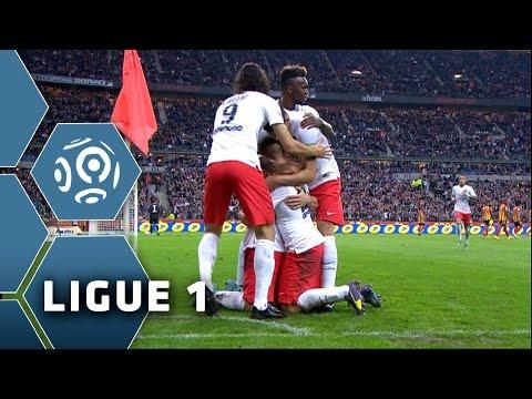But Yohan CABAYE (28') / RC Lens - Paris Saint-Germain (1-3) -  (RCL - PSG) / 2014-15
