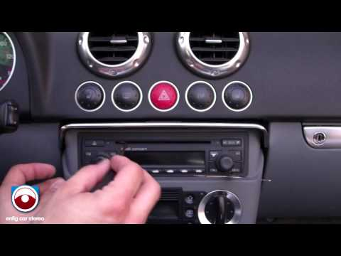 Audi TT Radio Removal 2002-2006