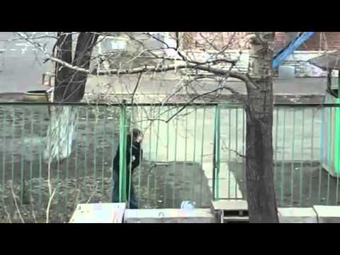Drunk russian guy and a fence - The futility of existence