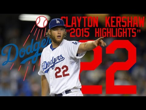 Clayton Kershaw | 2015 Dodgers Highlights ᴴᴰ