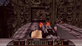 Duke Nukem 3D E2M4: Fusion Station (100%)