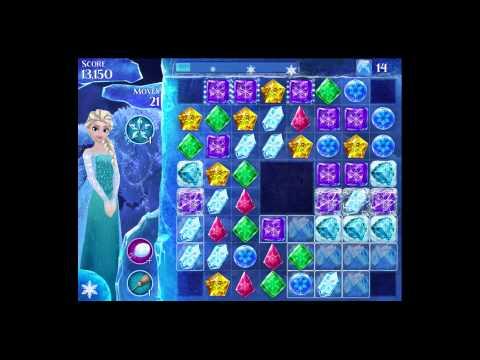 Disney Frozen Free Fall - Level 74 [Gameplay Walkthrough]