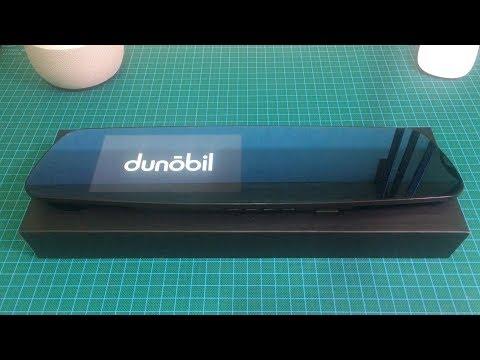 Автомобильный видеорегистратор-зеркало Dunobil Spiegel Eva с двумя камерами