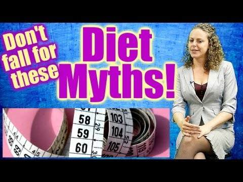 Top 6 Diet Myths. Easy Weight Loss Tips, How to Lose Weight & Keep it Off. Nutrition Health Coach - YouTube