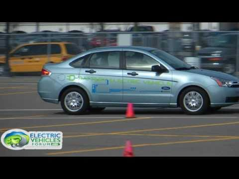 Electric Vehicles Forum Interviews & Drives Ford Focus Electric @ BPI Conference