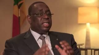 Entretien avec le Président Macky Sall
