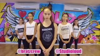Download Lagu BRATZ CREW & 10 yr old MAYA -  #girlfriend by Kap G || @studioloud Gratis STAFABAND