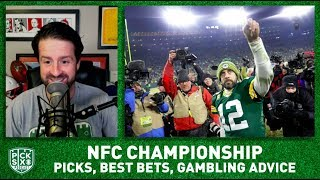 NFC Championship Picks, Best Bets, Gambling Advice for Packers-49ers I Pick Six Podcast