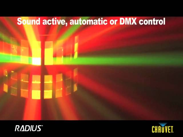 Chauvet Radius 5 Channel DMX Effect Light