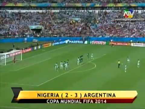 Nigeria vs Argentina (2-3) | Mundial Brasil 2014 | ATV
