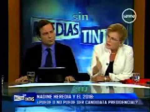 Entrevista a la ministra de la Mujer, Ana Jara. (Canal 2)