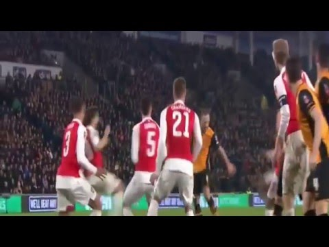 Arsenal vs Hull City 4 - 0 Highlights FA Cup 8th March 2016
