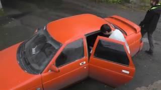 Первый пуск Peugeot 406. Встреча парней у Военкомата.