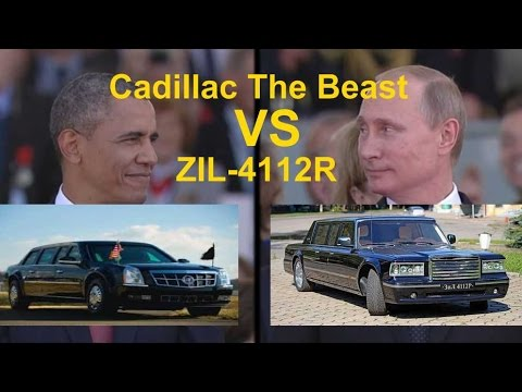 Obama Car Vs Putin Car | The Beast Vs ZIL-4112R